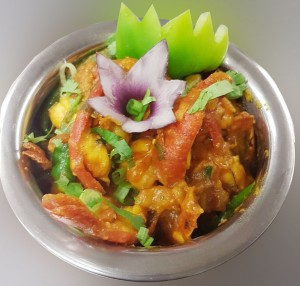 Taste of India Indian King Prawn curry dishes