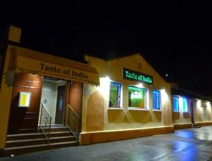 Taste of India Restaurant in Rosyth