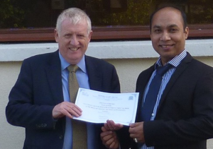 Taste of India Rosyth Awarded
