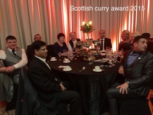 Taste of India Rosyth in Asian Curry Award